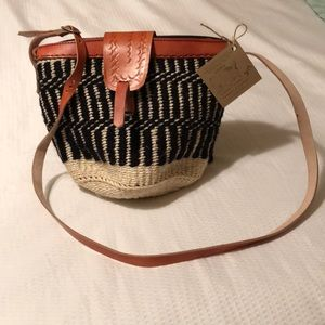 NWT handcrafted purse